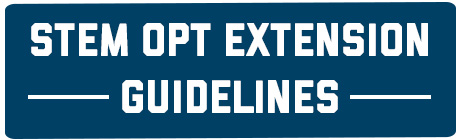 STEM OPT Extension Guidelines